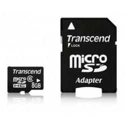 Micro SDHC Transcend 8Gb Clasa 6