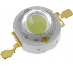 Led 8mm 1W alb