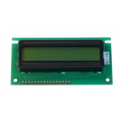 Display LCD 16 caractere 2 linii galben/verde