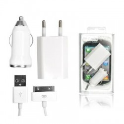 Kit 3in1 Iphone 3G/3GS/4/4S BOX