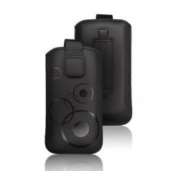 Husa Forcell Deko Nokia Asha 302/N8/N97 mini/500 neagra