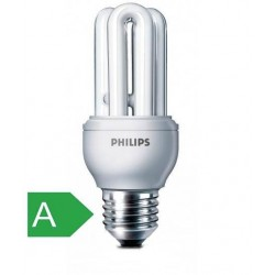 Bec economic alb cald 18W PHILIPS GENIE