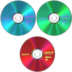 DVD+R Sony 4.7Gb 16x color
