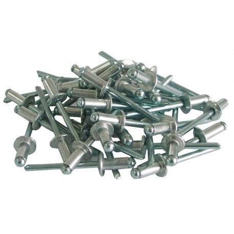 Nituri aluminiu 4 x 10mm set 50buc.