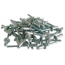 Nituri aluminiu 4 x 12.5mm set 50buc.