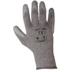 Manusi protectie bumbac/poliester cu latex
