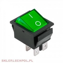 Intrerupator led on/off IRS 201 Verde