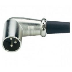Mufa microfon tata fir XLR 90°