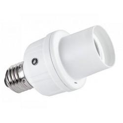 Dulie E27 cu senzor de lumina