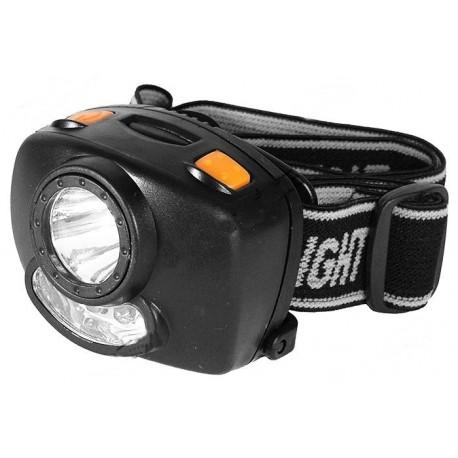 Lanterna fixare cap led 3W + 4 leduri