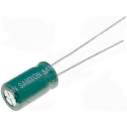 100uF 25V SAMXON Low ESR
