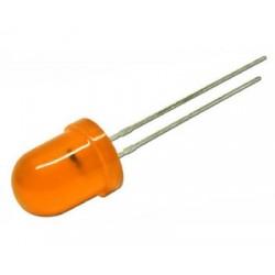 Led 10 mm portocaliu