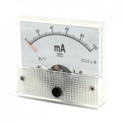 Ampermetru analogic 100mA curent continuu