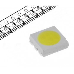 Led SMD 5060 PLCC6 alb cald