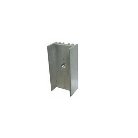 Radiator aluminiu 15x10x29mm