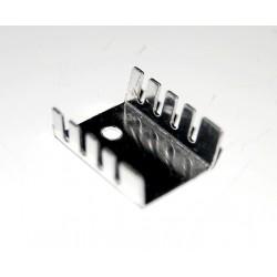 Radiator aluminiu 21x14x9 mm