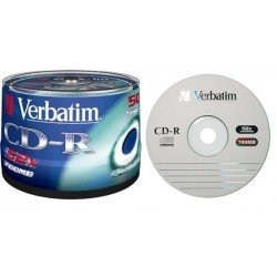 CD-R Verbatim 700MB 52x