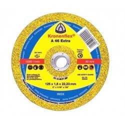 Disc abraziv 125x1.6x22.2mm A46EX