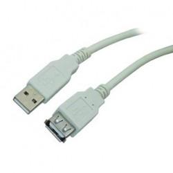 Cablu prelungire USB 0.5m