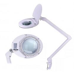 Lampa cu lupa lentila sticla 5 dioptrii 80 led-uri putere 8W