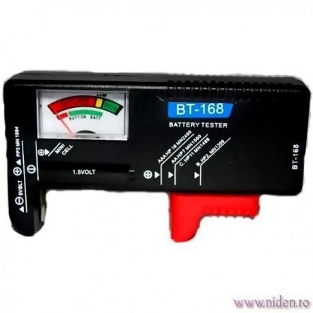 Mini tester pentru baterii