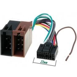 Conector auto ISO Kenwood 16pini