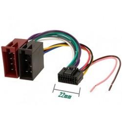 Conector auto ISO JVC16 pini mod.2