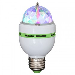 Bec RGB cu led-uri cap rotativ