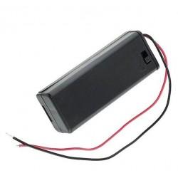 Suport baterie 1xR6 cu intrerupator
