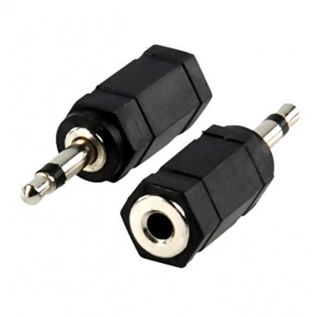 adaptor jack tata 2,5 mm mono la jack mama 3,5 mm mono