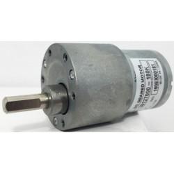 Motor c.c. 12V 0.2A 82x37mm mecanism reductie