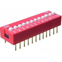 Intrerupator miniatura 12 x ON-OFF
