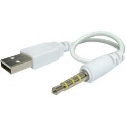 Cablu adaptor USB - jack tata 3.5mm - 4 contacte