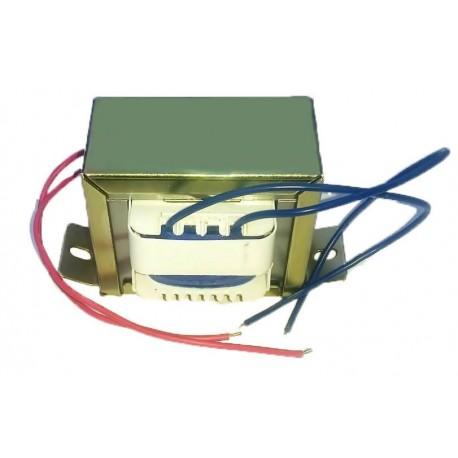 Transformator de retea 200mA 2x12V