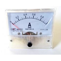 Ampermetru analogic 1A curent continuu