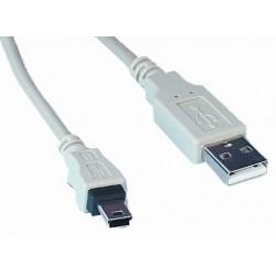 Cablu USB tata A la mini USB tata A 5 pini 1,5m