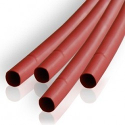 Tub termocontractabil 10mm/1m rosu