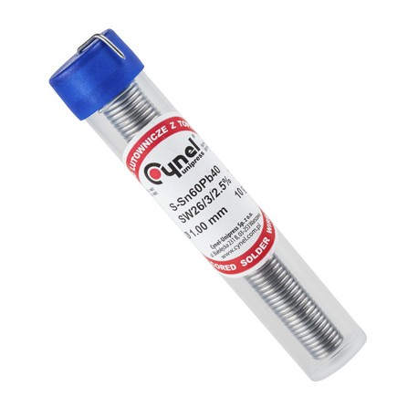 Fludor tub 1mm -10gr cynel
