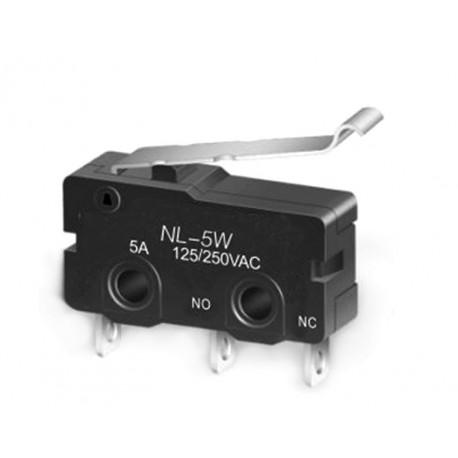 Microintrerupator limitator de cursa NL-5W