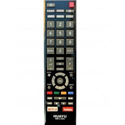 Telecomanda LED RM-L1625 Toshiba cu Netflix si Youtube