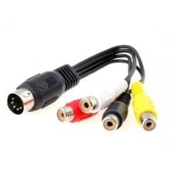 Cablu 4RCA la DIN5 0.2M