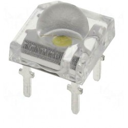 Led super flux 5mm alb