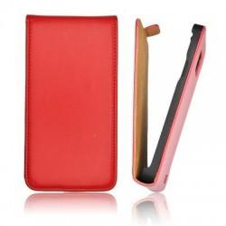 Husa Slim Flip Samsung I8190 Galaxy S3 mini rosie
