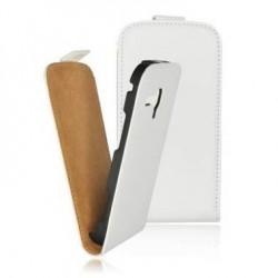 Husa Slim Flip Samsung I8190 Galaxy S III mini alba