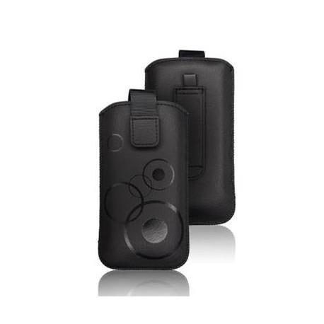 Husa Forcell Deko Samsung I9100 Galaxy S2/LG L7 neagra