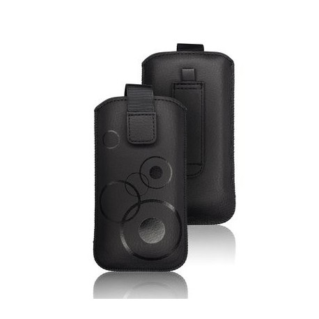 Husa Forcell Deko Sam. I9000 Galaxy S/I8190 S3 mini neagra