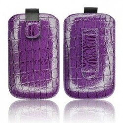 Husa SlimCroco violet iPhone 3GS/4G/4S/Sam.Galaxy Ace S5830