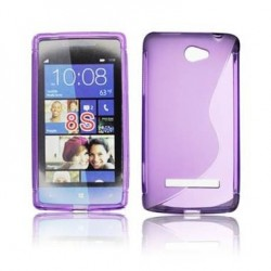 Husa silicon BackCase S-line HTC 8S violet