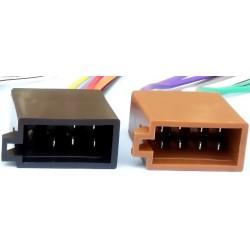 Set conectori casetofon auto ISO mama