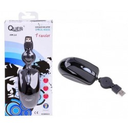 Mouse optic fir retractabil Quer